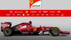 ferrari launches f14 t for formula one