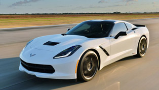 2014 Chevrolet Corvette C7 With HPE500 Upgrade