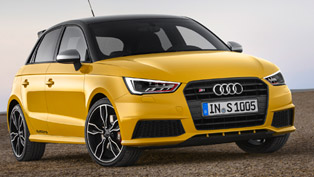 2014 Audi S1 and S1 Sportback - EU Price €29,950 and €30,800