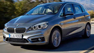 2014 2-Series Active Tourer - The First Front Wheel Drive Vehicle from BMW