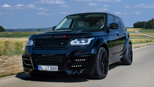 lumma design range rover clr r carbon package