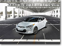 2014 Hyundai Veloster RE:FLEX Shown At Chicago Auto Show