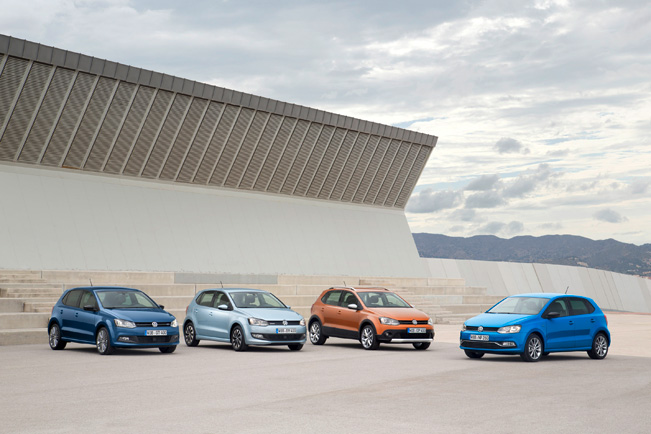 2014 Volkswagen Crosspolo Polo Bluemotion And Bluegt
