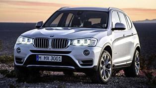 2015 BMW X3 - Updated Exterior, Interior and Engine Range