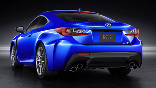 Lexus RC F-Sport at the 2014 Geneva Motor Show