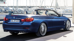 2014 alpina b4 bi-turbo convertible based on bmw 4-series 335i