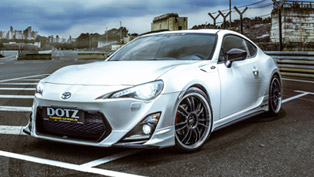 Pure Sports Feeling: Dotz Shift Toyota GT86