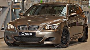 G-Power Hurricane RR BMW M5 E61 Touring - 820HP and 790Nm