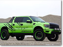 GeigerCars Garish Green Ford F-150 SVT Raptor Beast Edition