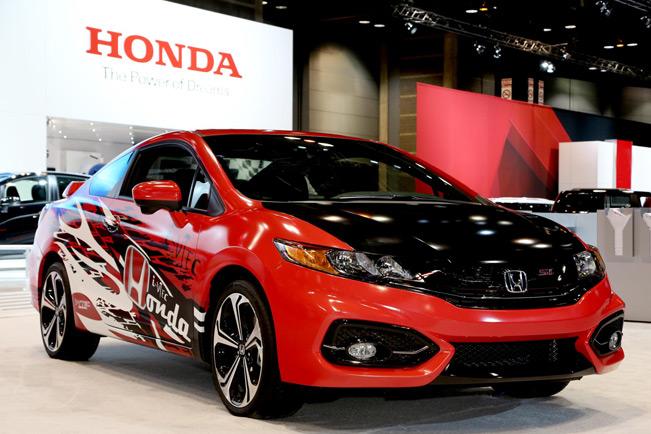 Custom Honda Civic Si Coupe Revealed In Chicago