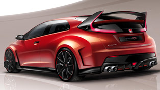 Honda Civic Type R Concept at Geneva Motor Show