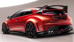 Honda Civic Type R Concept at Geneva Motor Show