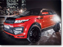 LARTE Design Range Rover Evoque Is Unique Eye-Catcher