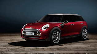 believe it or not mini clubman concept has six doors!