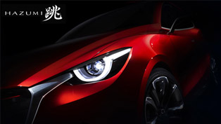 Mazda To Officially Reveal HAZUMI Model At Geneva Motor Show
