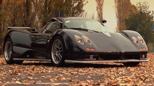 pagani zonda s 7.3: taking a drive with horacio pagani [video]