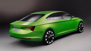 Skoda Shows VisionC Concept