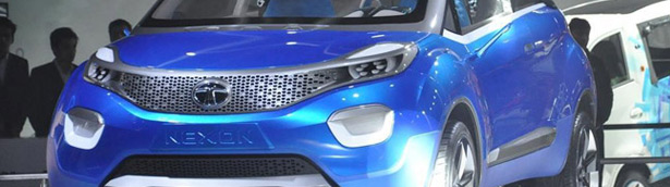 Tata Nexon and ConnectNext Concept