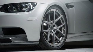 vorsteiner bmw m3 on flow forged v-ff 101