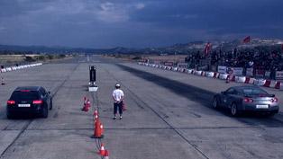 Madness Motorsport Audi RS6 vs Porsche GT2 997 and Nissan GT-R
