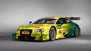 2014 Audi RS 5 DTM Getting New Color Scheme