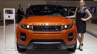 2014 Geneva Motor Show: Range Rover Evoque Autobiography Dynamic