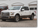 2015 Ford F-Series Super Duty and Expedition King Ranch