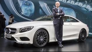 2014 Geneva Motor Show: 2015 Mercedes-Benz S-Class Coupe