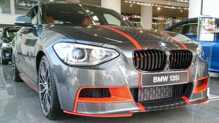 Abu Dhabi BMW 135i ///M Performance Special Edition