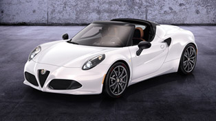 debut for alfa romeo 4c spider prototype