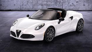 Debut For Alfa Romeo 4C Spider Prototype
