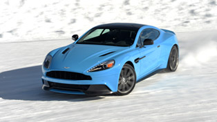 Aston Martin Shows Full Potential On Ice [VIDEO]