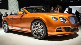 2014 Geneva Motor Show: Bentley GT Speed Convertible