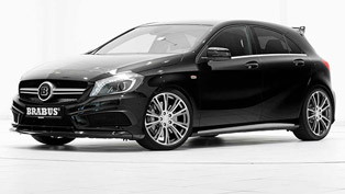 Brabus Mercedes-Benz A45 AMG - 400HP and 500Nm