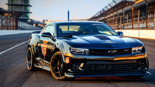 Chevrolet Camaro Z/28 Indy 500 Pace Car To Be Driven By Dario Franchitti