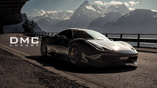 DMC Ferrari 458 Italia Elegante In The Swiss Alps