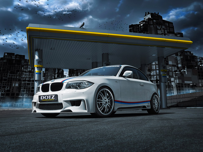 BMW I Coupe Gets Some Extras From Rieger Tuning And Dotz Shift - Bmw 135i tune