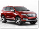 Ford Everest Concept Makes ASEAN Debut