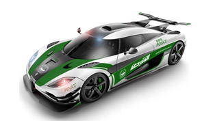 If Koenigsegg One:1 Was Driven By Dubai Police