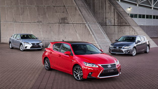 Lexus CT 200h Range: Luxury, F Sport And Sports Luxury