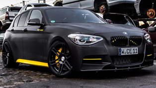 Manhart MH1 BMW 1-Series M135i - 405HP and 560Nm