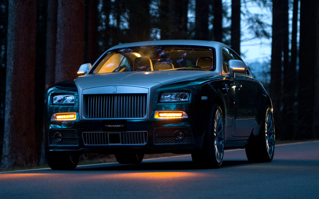 Mansory Rolls Royce Wraith 740hp And 1 000nm