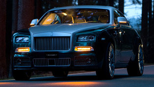 mansory rolls-royce wraith - 740hp and 1,000nm