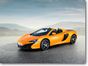 McLaren 650S Spider Joins 650S Coupe In Geneva World Debut