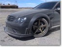 Mercedes-Benz CLK Black Series C209 - Drift and Donuts [video]