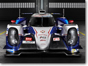 Toyota TS040 Hybrid Race Car
