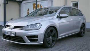 Volkswagen Golf R Estate [spy photos]