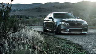 Vorsteiner BMW F10 M5 In Singapore Gray