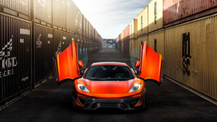 Vorsteiner Introduces McLaren MP4-VX In Volcano Orange
