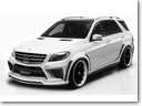 WALD Shows Mercedes-Benz M-Class Black Bison